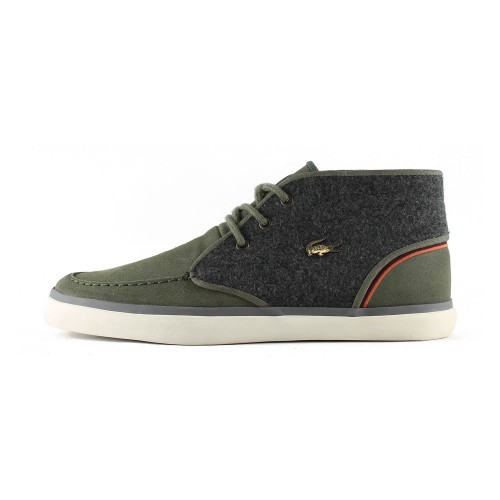 Lacoste Sevrin Mid Γκρί-Λαδί